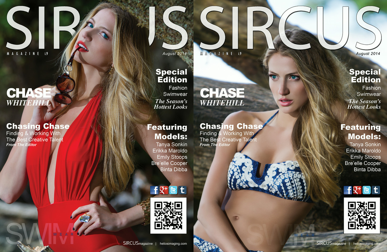 Sircus Magazine Issue 9 Double Cover Release Swimwear Edition