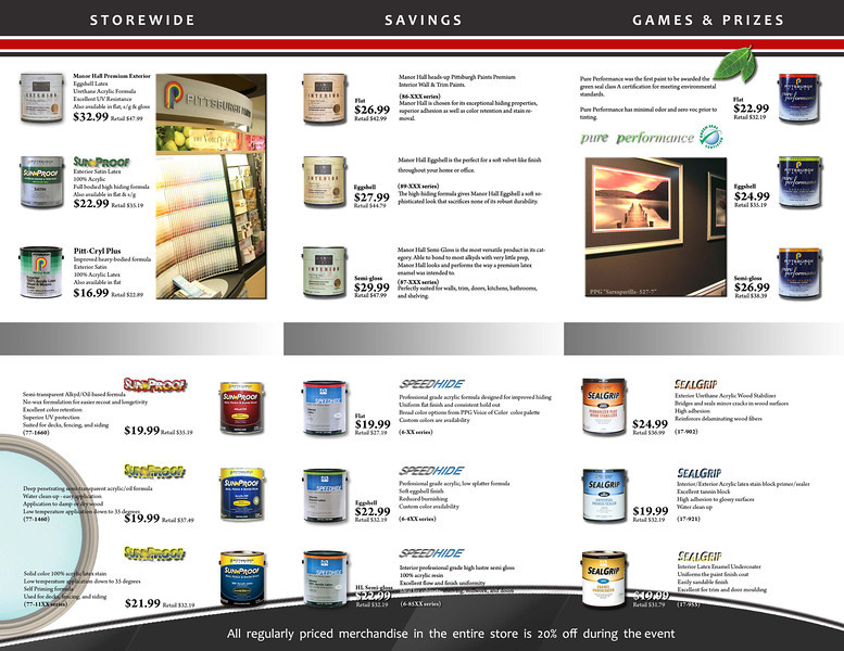 Tri-fold Sales Brochure Design