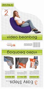 video beanbag label