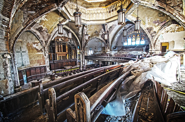 Presbyterian Detroit Decay Churches ALBUM