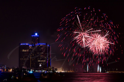 Detroit Windsor / Fireworks 3