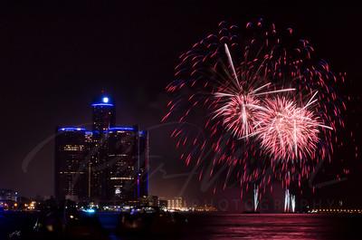 Detroit Windsor / Fireworks 3