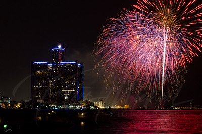 Detroit Windsor / Fireworks 15
