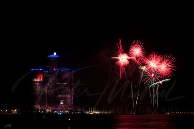Detroit Windsor / Fireworks 6