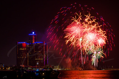 Detroit Windsor / Fireworks 9