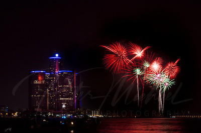 Detroit Windsor / Fireworks 8