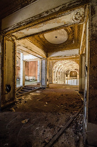 Urban Decay, Detroit, Michigan, Theater Parking Garage, 8 mile movie