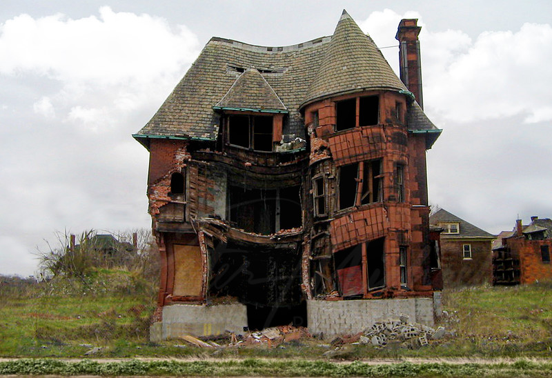 Slumpy Brush Park Detroit MI. Livingston Home