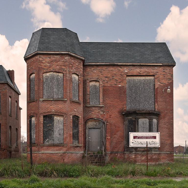 Detroit homes then & now
