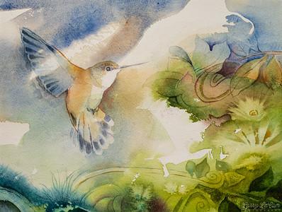 painting by Diana LaCom