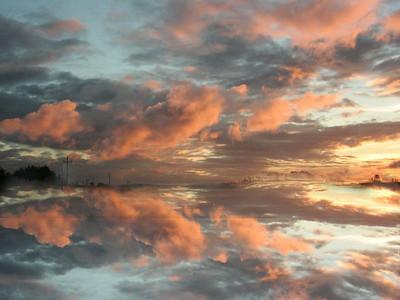 mirrored sunset2