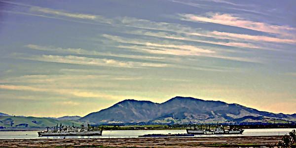 Mothball Fleet, Benicia CA