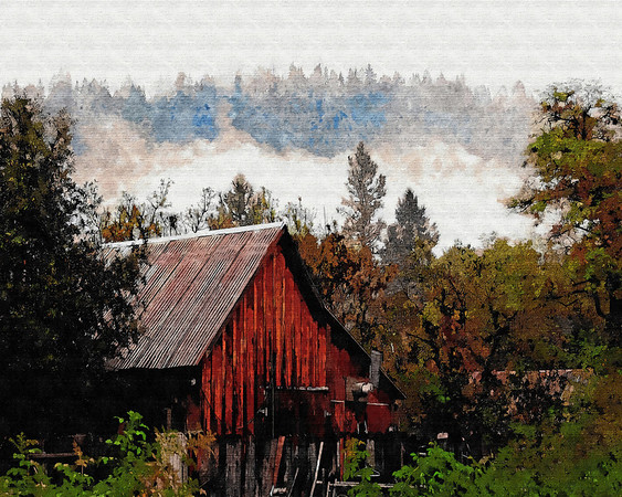 washington california barn