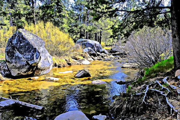 Late Spring Donner Creek