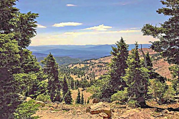 lassen trail view