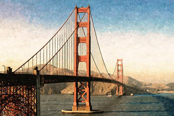 Golden Gate Bridge S F
