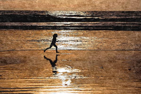 Oil, Run along the Beach