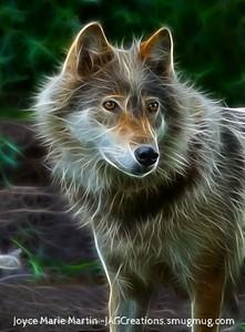 Wolf art 1