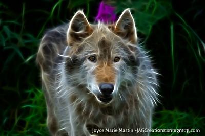 Wolf art 5
