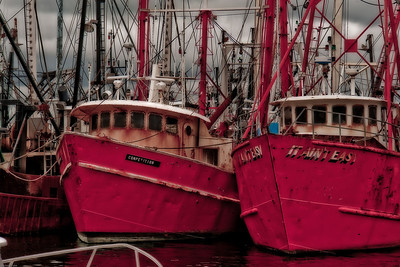 Fishing boats New Bedford