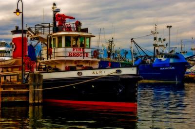 Seattle Fireboat Alki