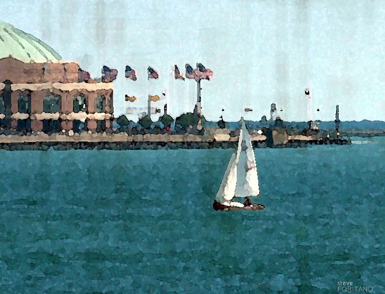 Navy Pier<br /> <br /> This photograph is a limited edition digital print. <br /> The edition size is 50.