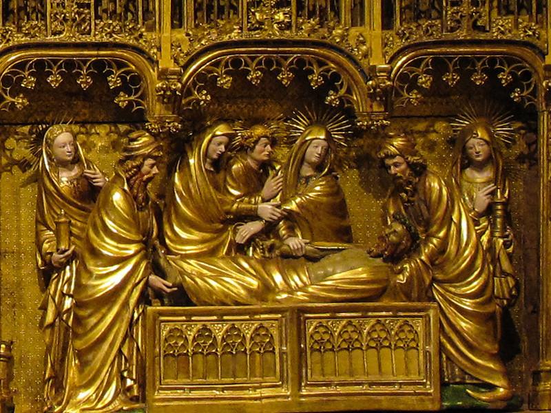 Dijon Beaux Arts Museum - Crucifixion Altarpiece - Entombment