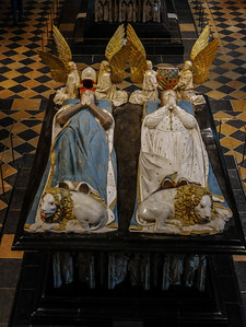 Dijon Beaux Arts Museum - The Tomb of Duke John the Fearless and Margaret of Bavaria