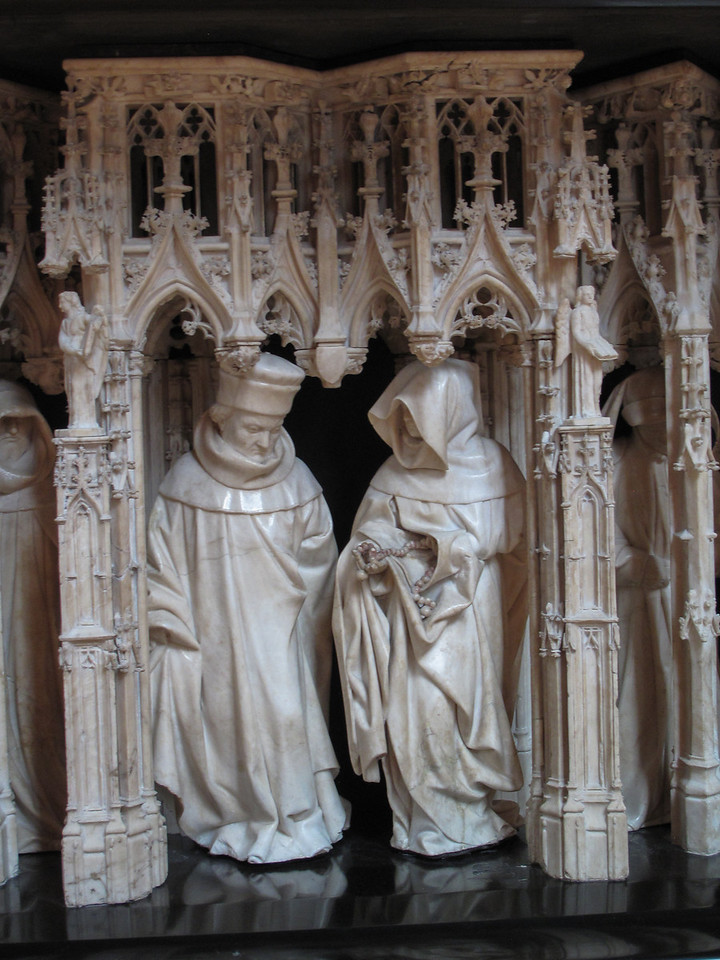 Dijon Beaux Arts Museum - Duke Philip the Bold's Tomb - Monks in Mourning