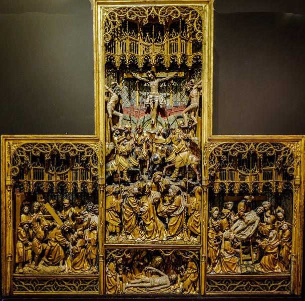 Dijon Beaux Arts Museum - Passion Altarpiece