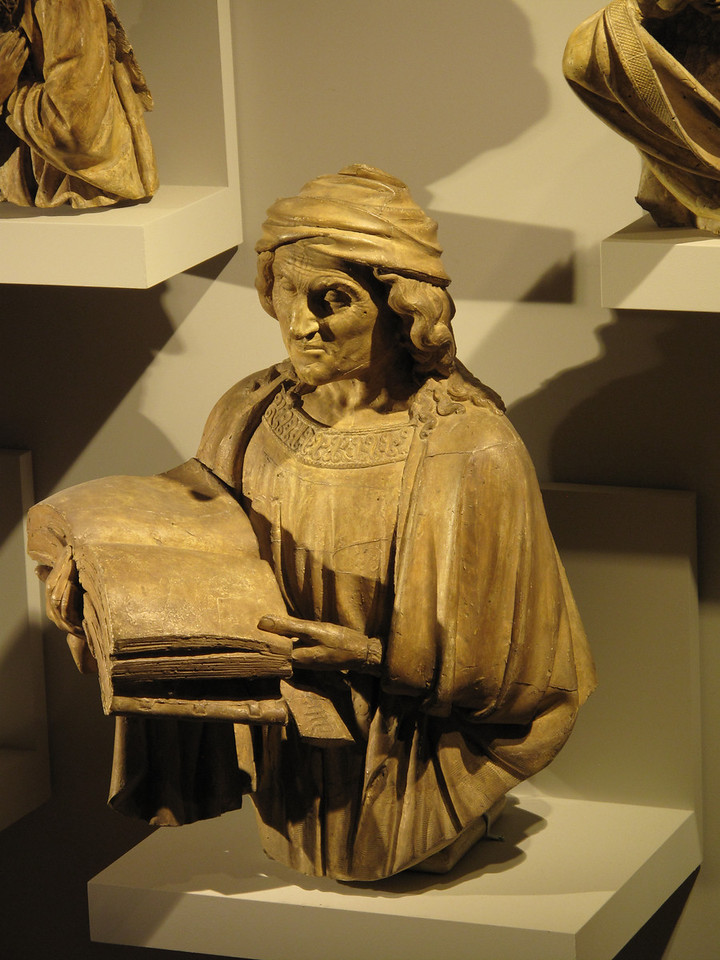Dijon Beaux Arts Museum - Plaster  Cast of Jerimiah
