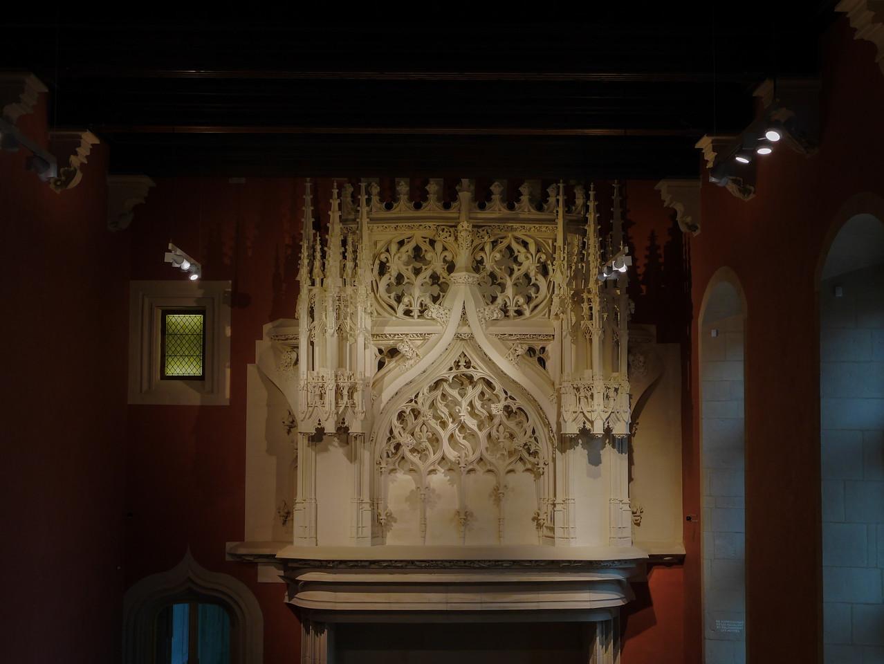 Dijon Beaux Arts Museum - Mantelpiece
