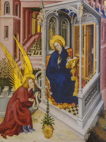 Dijon Beaux Arts Museum -The Annunciation by Melchior Broederlam