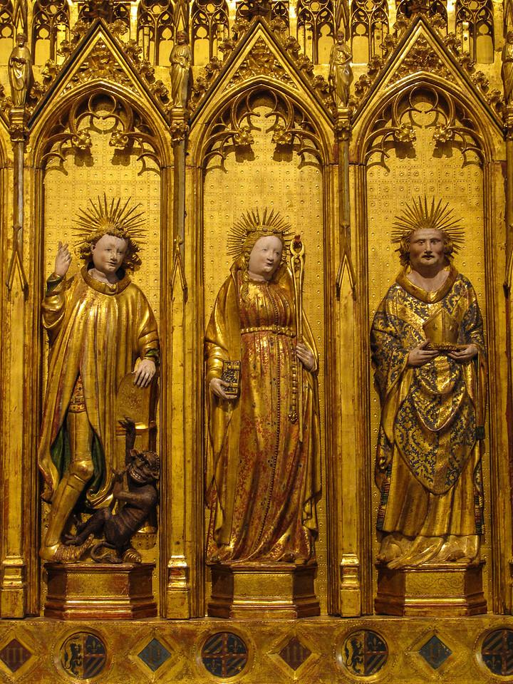 Dijon Beaux Arts Museum - of Saints and Martyrs Altarpiece