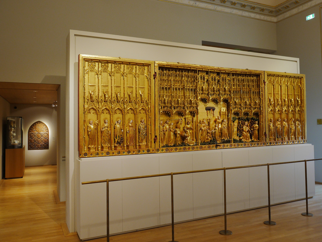 Dijon Beaux Arts Museum - The Saints and Martyrs Altarpiece