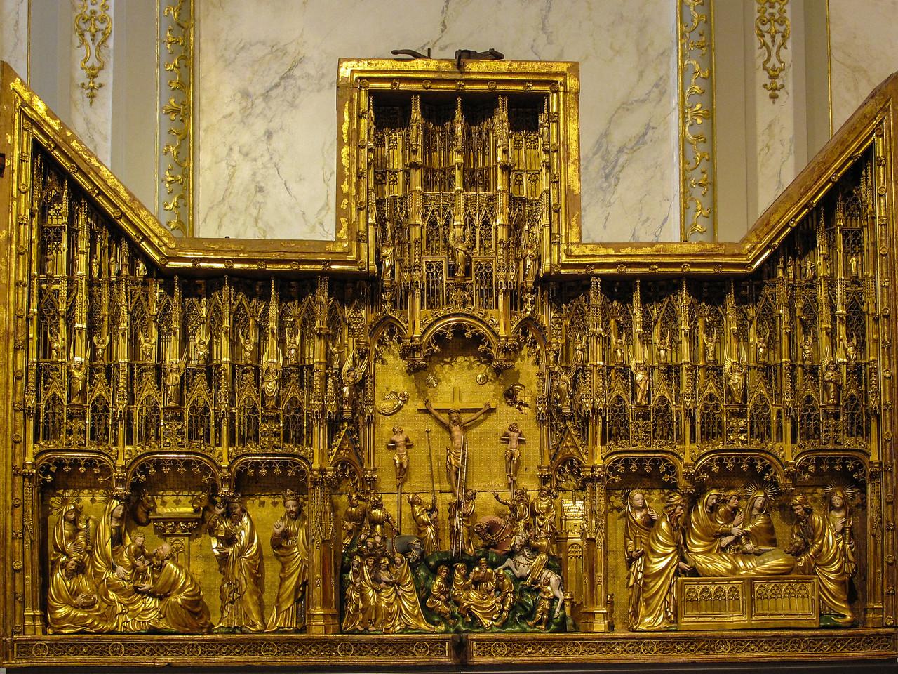 Dijon Beaux Arts Museum - Crucifixion Altarpiece - Central Panel