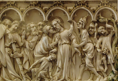Dijon Beaux Arts Museum - Ivory Relief - The Kiss of Judas