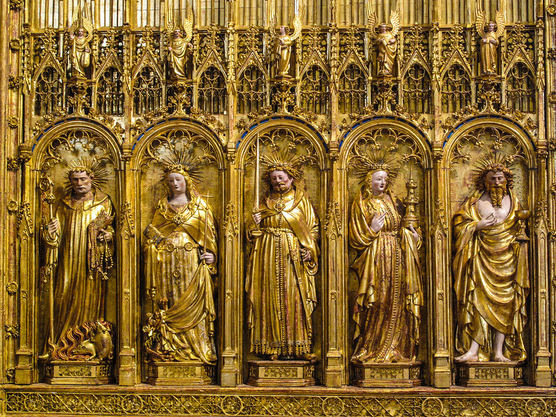 Dijon Beaux Arts Museum - Saints and Martyrs Altarpiece