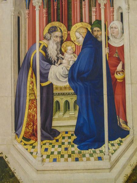 Dijon Beaux Arts Museum - Crucifixion Altarpiece - The Circumcision