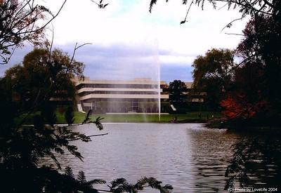 PepsiCo Headquarters building [rear view]