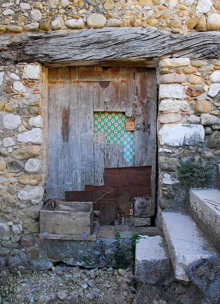 Tuscan doorway.
