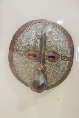 Dr Linden's masks at the Bible Lands Museum