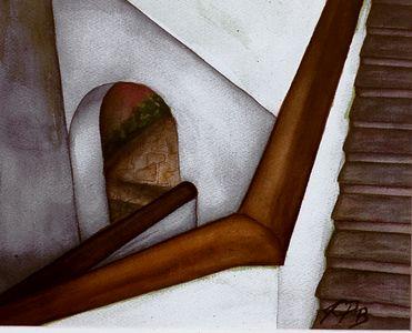 """El Rincon, watercolor, 10""""x12"""""""