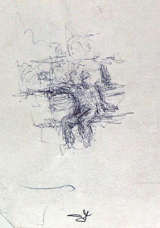 Blue Pen Notes by Richard Lazzara