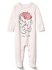 babyGap &#124 Disney Baby Dumbo double-face footed one-piece - cherry blossom