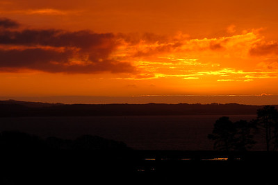 Sunset Kirkcolm