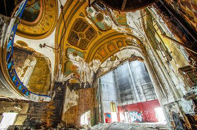 East Town Theater,  ruins, decay,