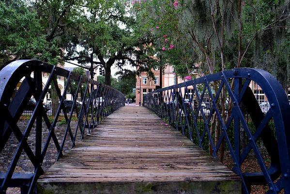 Historic Bridge in Savannah