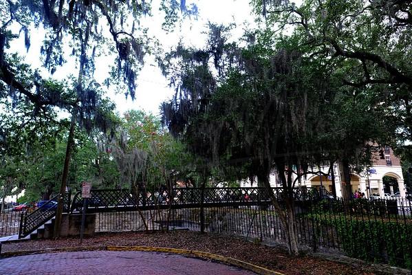 Historic District City View of Savannah