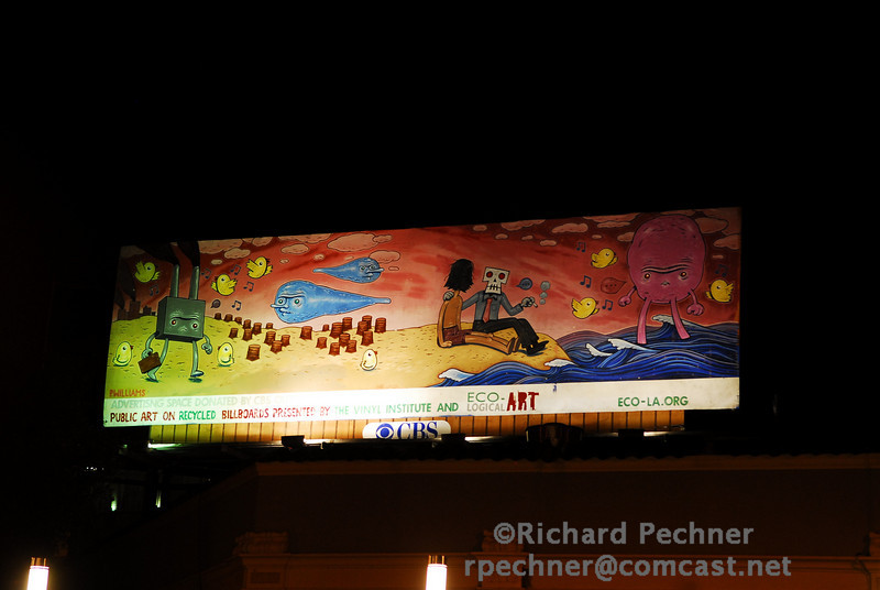 Patrick Williams piece installed at Franklin and Broadway, Oakland, CA.